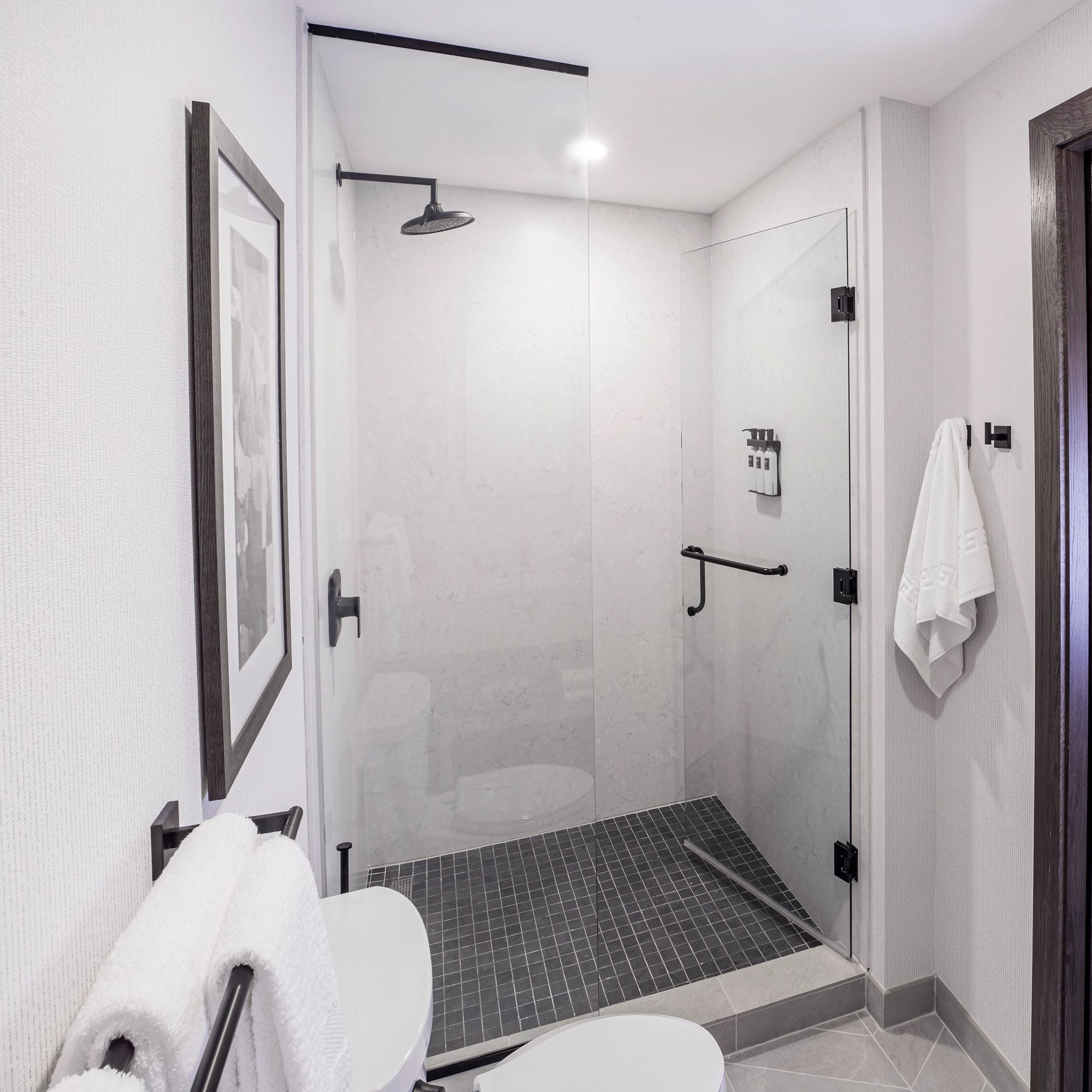 A picture containing wall, indoor, bathroom, white  Description automatically generated