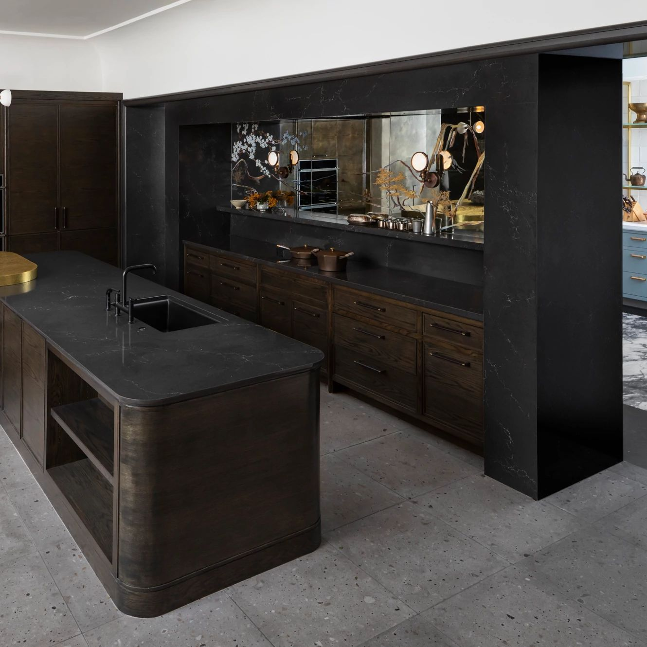 A picture containing indoor, floor, room, kitchen  Description automatically generated