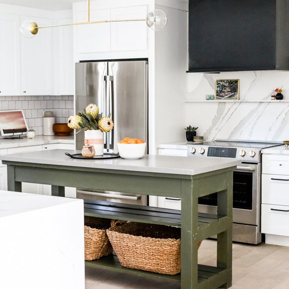 A picture containing indoor, kitchen, floor, appliance  Description automatically generated